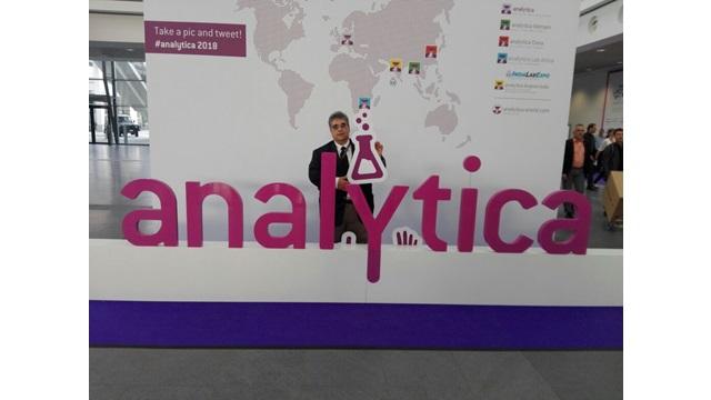 Η AnalytiKa στην Analytica 2018