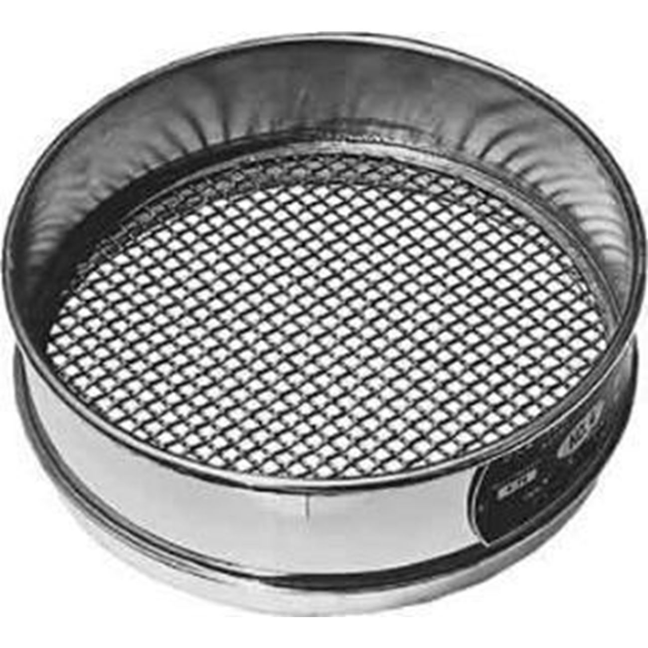Sieve SS, 200mm X 50mm, 4 mm wire cloth, 5 mesh
