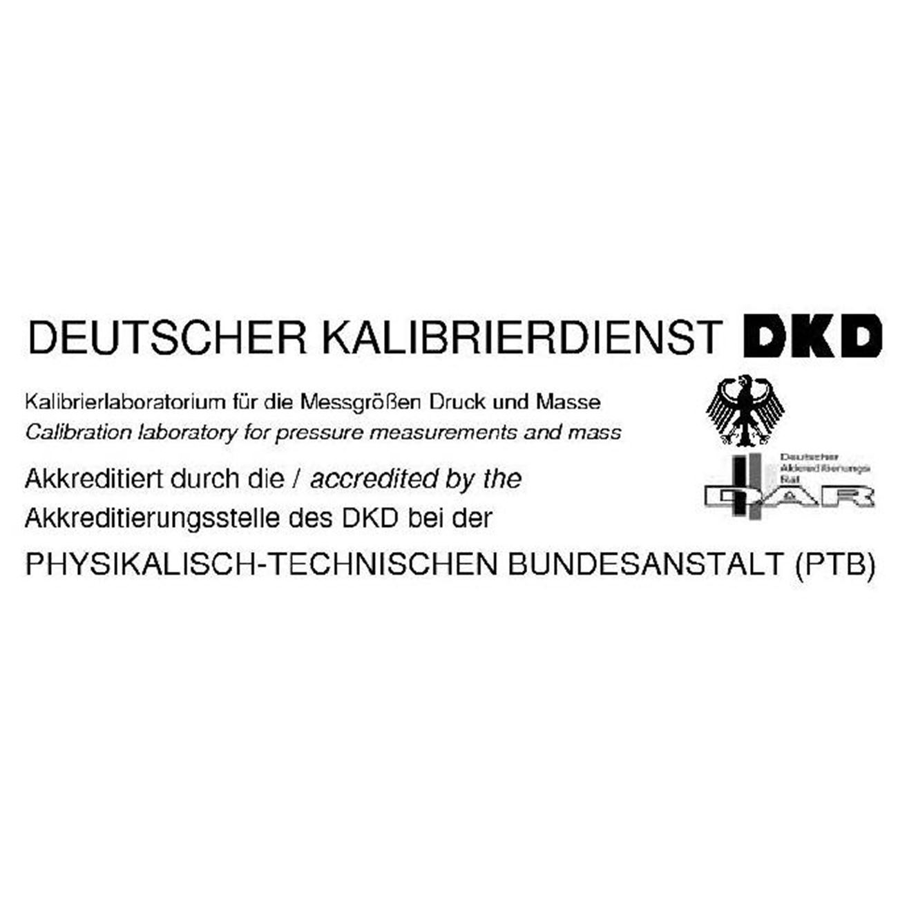 Certificate Dkd F1f2 Calibration Certificates Analytika